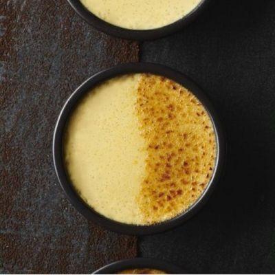 Crème brulée vanille