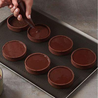 Pâte sucrée cacao par Frédéric Bau