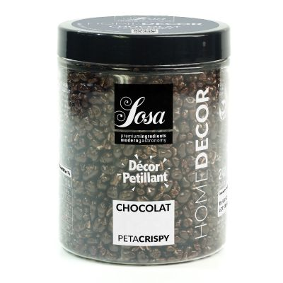Peta crispy Chocolat décor pétillant