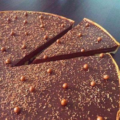 Tarte aux chocolats par Matthieu Robin