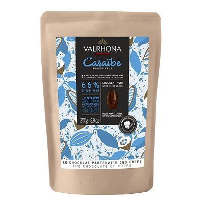Chocolat noir Caraïbe 66% - 250gr