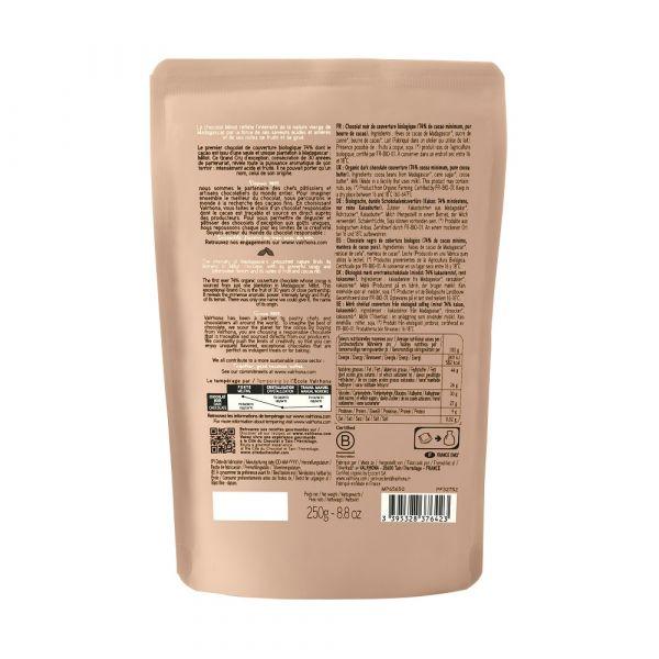 Chocolat noir Millot 74% - 250gr