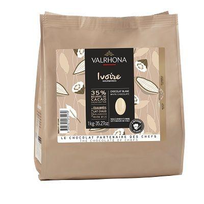 Chocolat blanc Ivoire 35% - 1kg