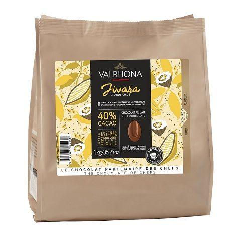 Chocolat au lait Jivara 40% - 1kg