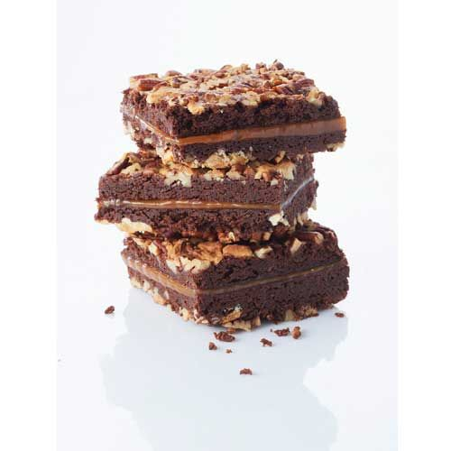 Recette brownie caramel Caraibe