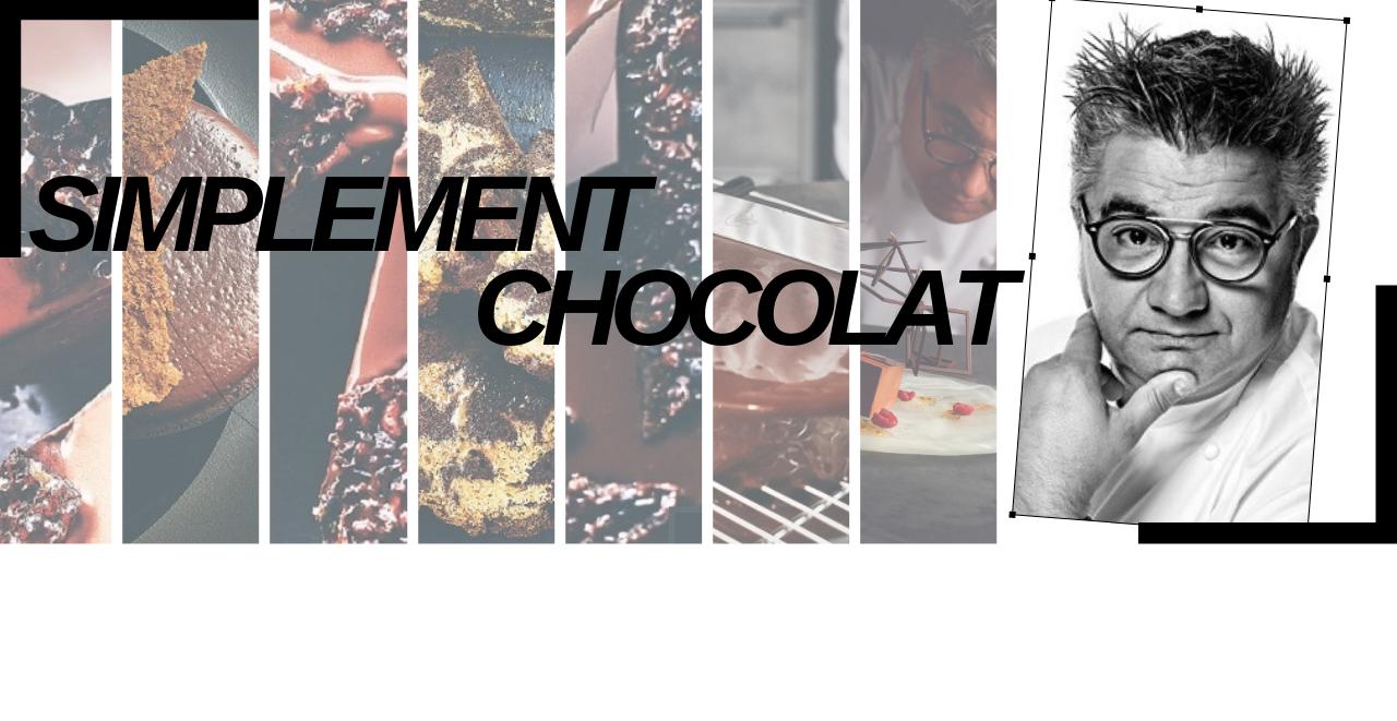 Simplement Chocolat ; Les secrets du talentueux pâtissier Frédéric Bau.
